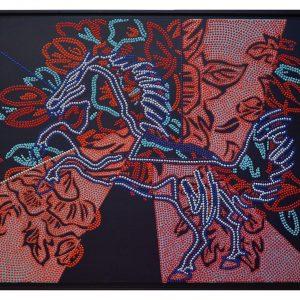HORSE BOUQUET 116x89cm
