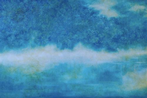 Clean mind 澄⼼ – 2016 Oil on canvas ?H97 x W146cm