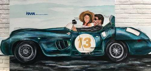 NaufalAbshar_My Authentic Life: Classic Car_2019_H120xW200cm