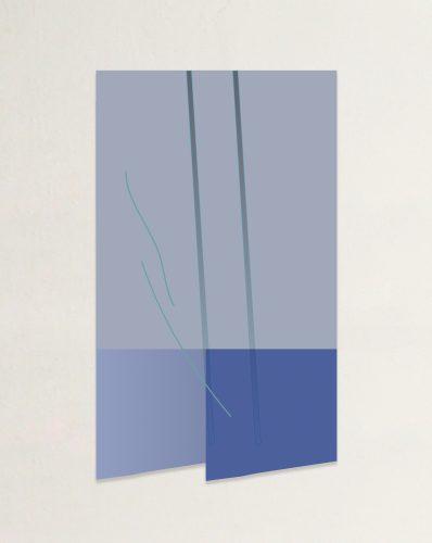 Two Blue Diagonals Again and Again
