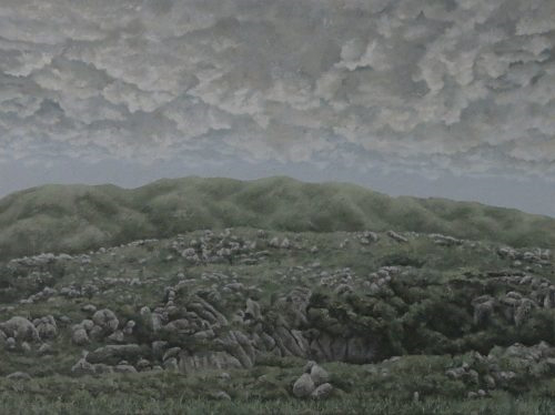 De UPSITE DOWN II_Oil on canvas_120x160_2019_RM8800.00