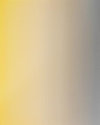 Untitled (Cadmium Yellow, Titanium White & Warm Grey)