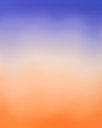 Untitled (Manganese Violet, Titanium White, Yellow Ochre & Vermillion)
